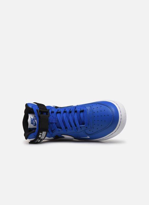 Sneakers Nike Air Force 1 High Lv8 2 (Gs) Blå bild från vänster sidan