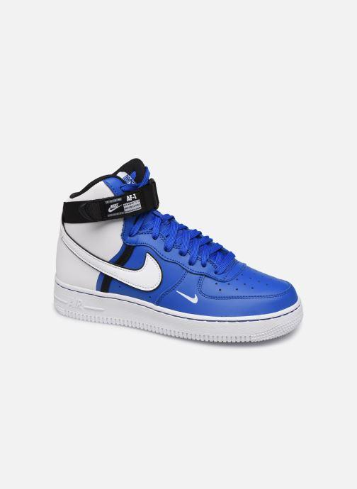 Sneakers Nike Air Force 1 High Lv8 2 (Gs) Blå detaljerad bild på paret