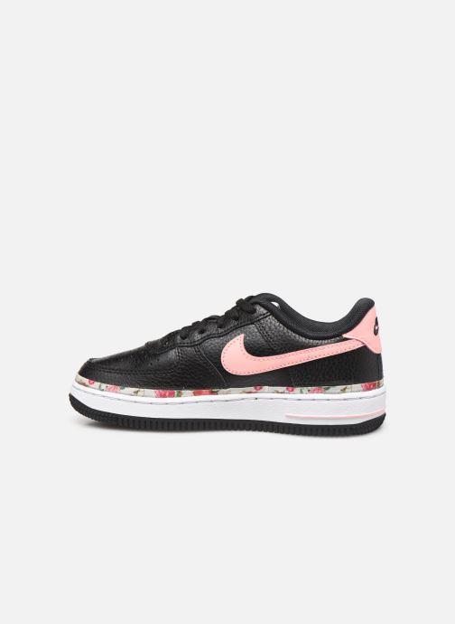 Sneakers Nike Nike Force 1 Vf (Ps) Zwart voorkant