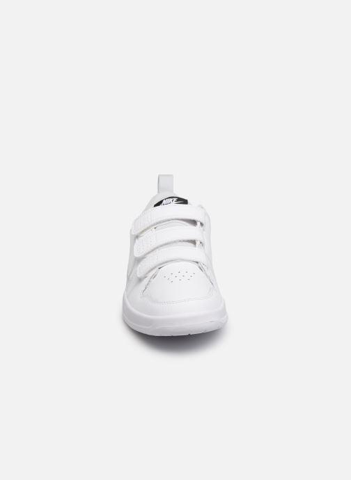 Baskets Nike Nike Pico 5 (Gs) Blanc vue portées chaussures
