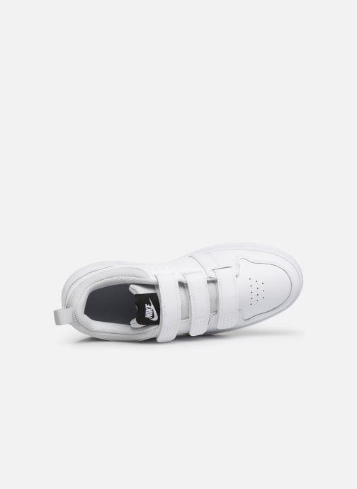 Sneaker Nike Nike Pico 5 (Gs) weiß ansicht von links