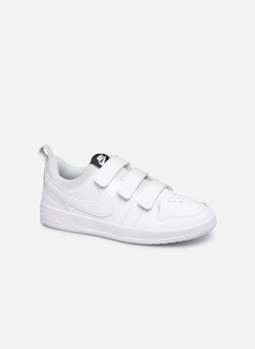 Baskets Nike Nike Pico 5 (Gs) Blanc vue détail/paire
