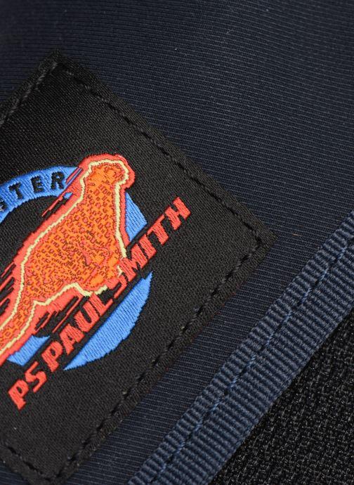 Kleine lederwaren PS Paul Smith MEN WALLET ZIP CRD CHEETAH Blauw achterkant