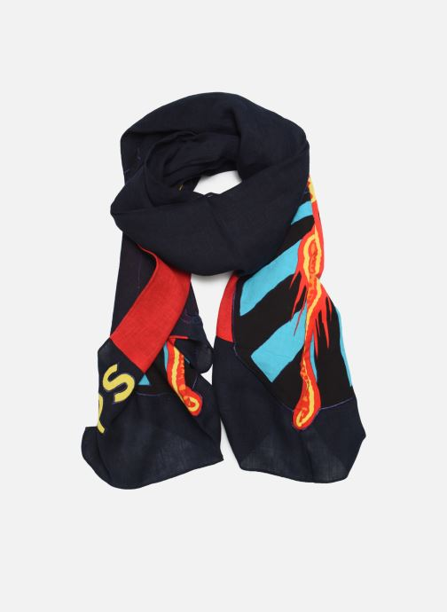 Echarpes et Foulards PS Paul Smith MEN SCARF CHEETAH Bleu vue détail/paire
