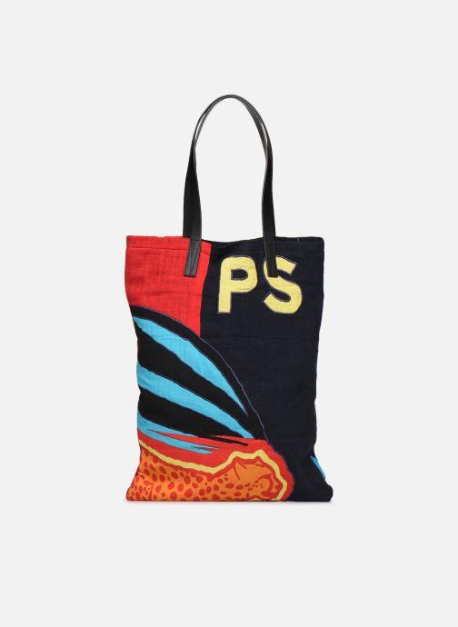 Herentassen PS Paul Smith TOTE BAG CHEETAH FLAG Multicolor detail