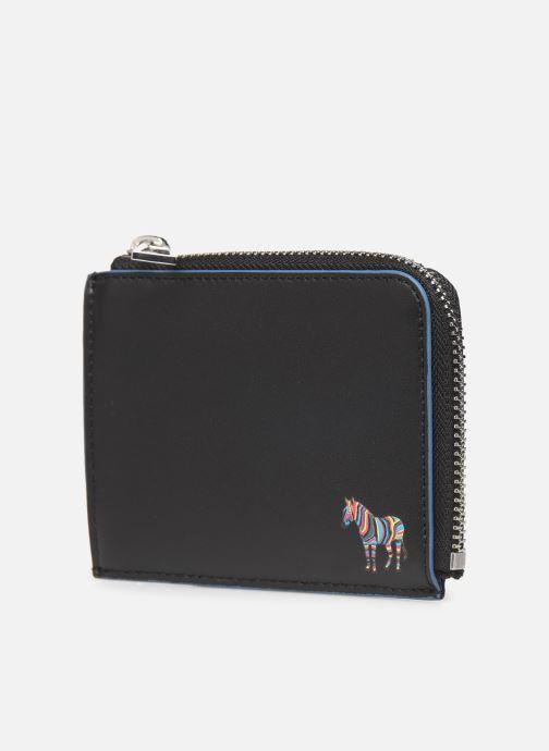 Portemonnaies & Clutches PS Paul Smith MEN WALLET CORNER ZIP schwarz schuhe getragen