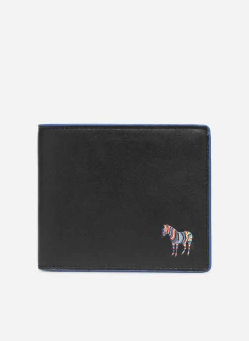 Kleine lederwaren PS Paul Smith MEN WALLET BFLD ZEBRA Zwart detail
