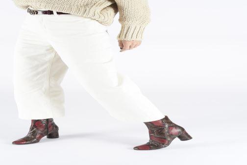 Bottines et boots Made by SARENZA Soft Folk Boots #11 Marron vue bas / vue portée sac