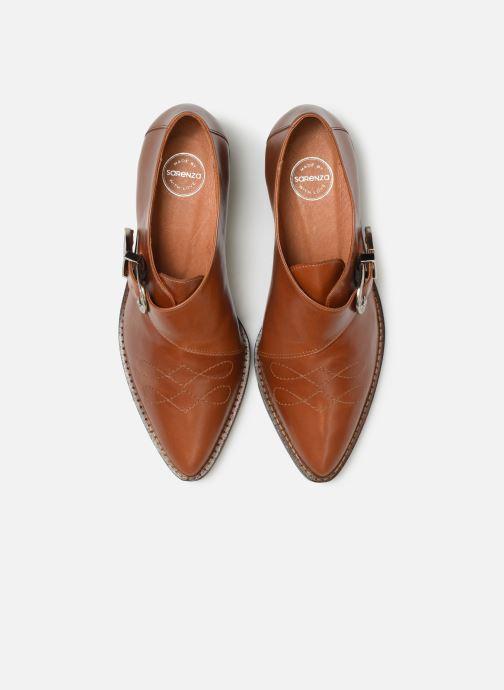 Stiefeletten & Boots Made by SARENZA Soft Folk Chaussures à Lacets #1 braun schuhe getragen
