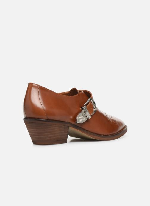 Boots en enkellaarsjes Made by SARENZA Soft Folk Chaussures à Lacets #1 Bruin voorkant