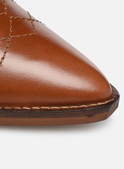 Boots en enkellaarsjes Made by SARENZA Soft Folk Chaussures à Lacets #1 Bruin links