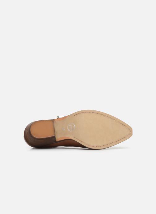 Bottines et boots Made by SARENZA Soft Folk Chaussures à Lacets #1 Marron vue haut