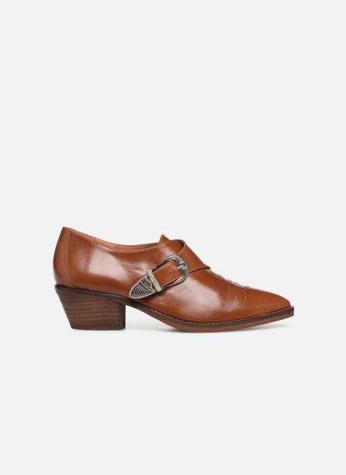 Boots en enkellaarsjes Made by SARENZA Soft Folk Chaussures à Lacets #1 Bruin detail