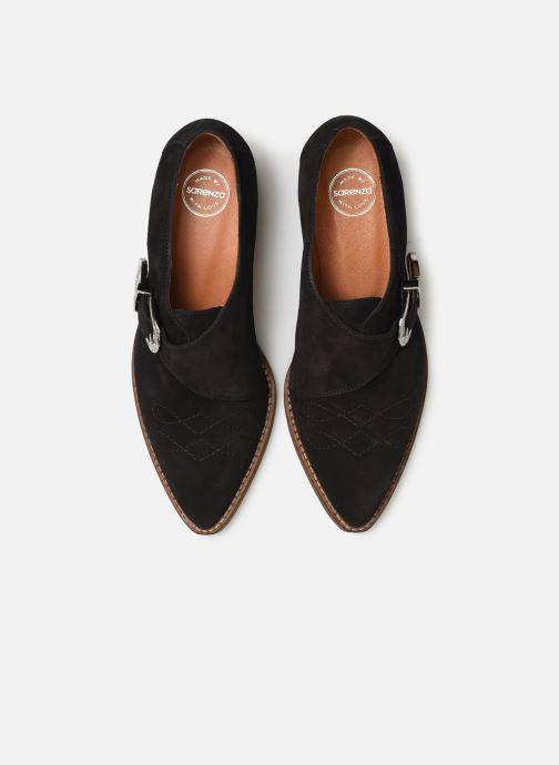 Stivaletti e tronchetti Made by SARENZA Soft Folk Chaussures à Lacets #1 Nero modello indossato