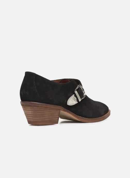 Ankelstøvler Made by SARENZA Soft Folk Chaussures à Lacets #1 Sort se forfra