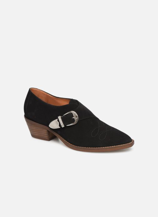 Botines  Made by SARENZA Soft Folk Chaussures à Lacets #1 Negro vista lateral derecha