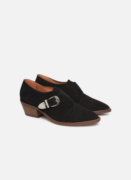 Bottines et boots Made by SARENZA Soft Folk Chaussures à Lacets #1 Noir vue derrière