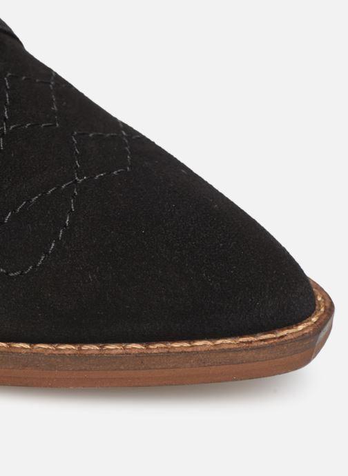 Stivaletti e tronchetti Made by SARENZA Soft Folk Chaussures à Lacets #1 Nero immagine sinistra