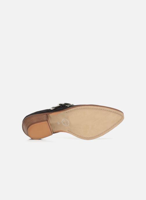 Bottines et boots Made by SARENZA Soft Folk Chaussures à Lacets #1 Noir vue haut