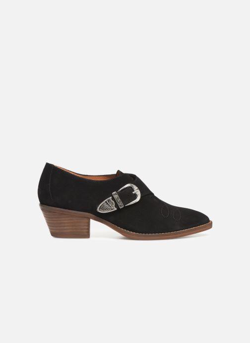 Ankelstøvler Made by SARENZA Soft Folk Chaussures à Lacets #1 Sort detaljeret billede af skoene
