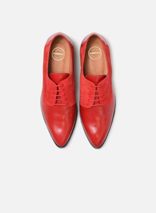 Scarpe con lacci Made by SARENZA Soft Folk Chaussures à Lacets #2 Rosso modello indossato