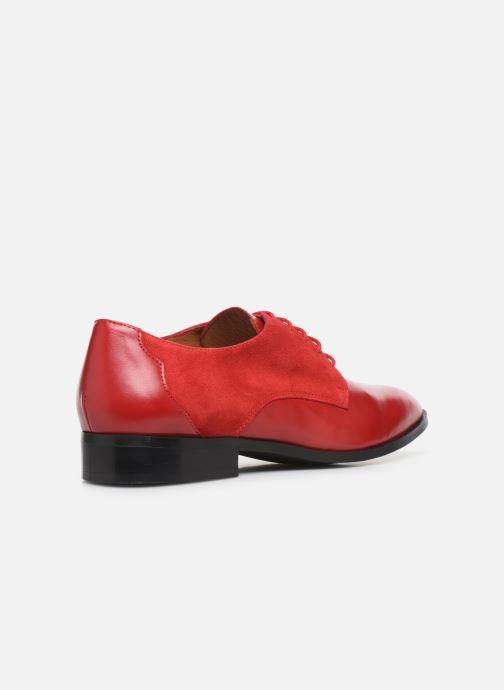 Zapatos con cordones Made by SARENZA Soft Folk Chaussures à Lacets #2 Rojo vista de frente