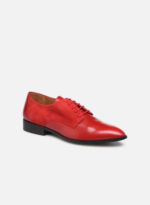 Zapatos con cordones Made by SARENZA Soft Folk Chaussures à Lacets #2 Rojo vista lateral derecha