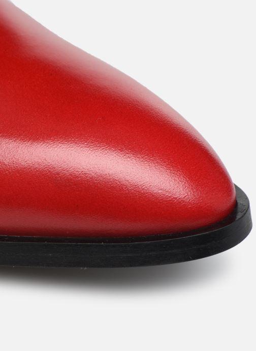 Zapatos con cordones Made by SARENZA Soft Folk Chaussures à Lacets #2 Rojo vista lateral izquierda