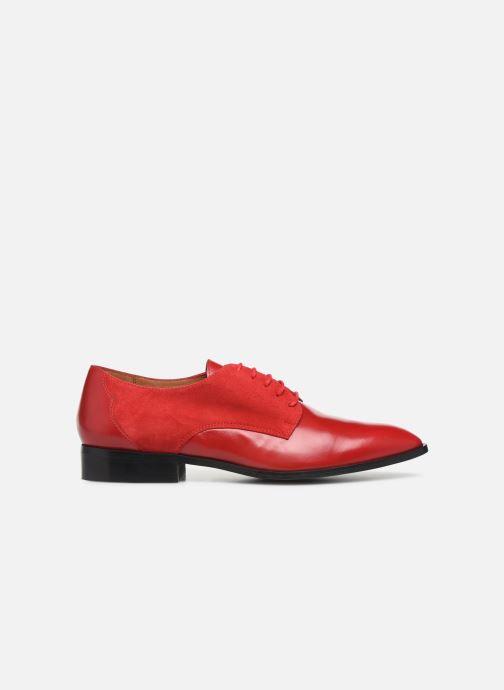 Snøresko Made by SARENZA Soft Folk Chaussures à Lacets #2 Rød detaljeret billede af skoene