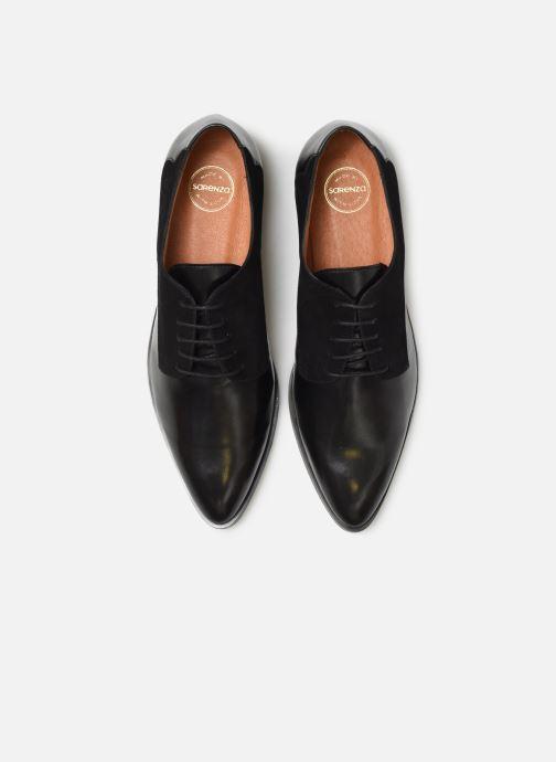 Schnürschuhe Made by SARENZA Soft Folk Chaussures à Lacets #2 schwarz schuhe getragen