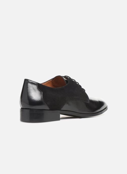 Schnürschuhe Made by SARENZA Soft Folk Chaussures à Lacets #2 schwarz ansicht von vorne