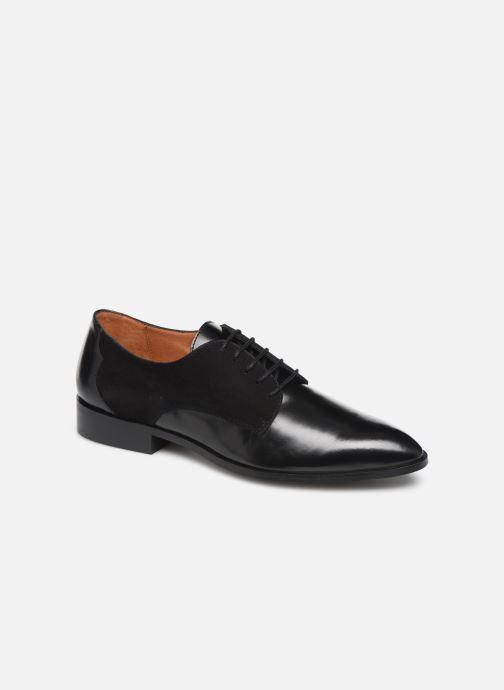 Schnürschuhe Made by SARENZA Soft Folk Chaussures à Lacets #2 schwarz ansicht von rechts
