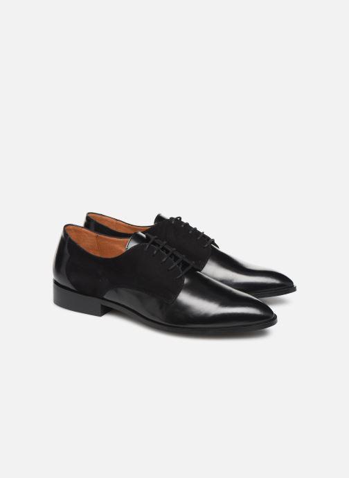Schnürschuhe Made by SARENZA Soft Folk Chaussures à Lacets #2 schwarz ansicht von hinten
