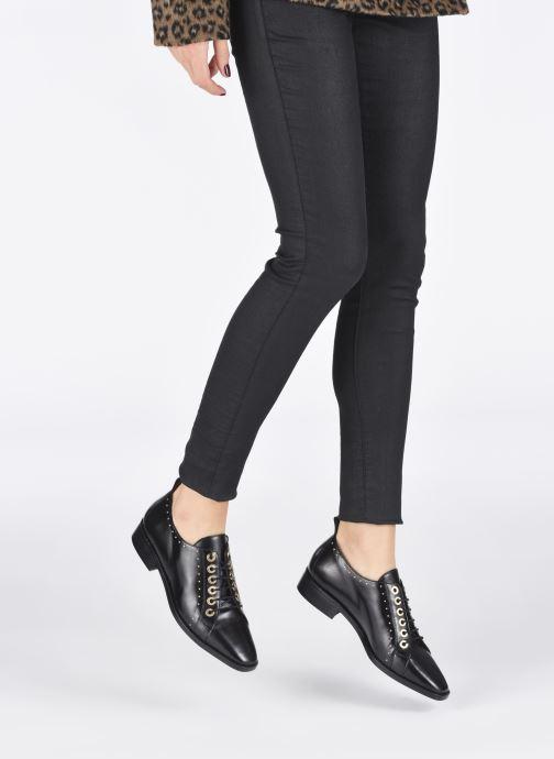 Scarpe con lacci Made by SARENZA Retro Dandy Chaussures à Lacet #1 Nero immagine dal basso