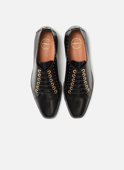Scarpe con lacci Made by SARENZA Retro Dandy Chaussures à Lacet #1 Nero modello indossato