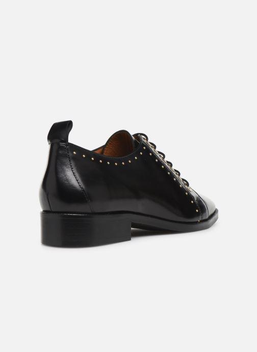 Chaussures à lacets Made by SARENZA Retro Dandy Chaussures à Lacet #1 Noir vue face