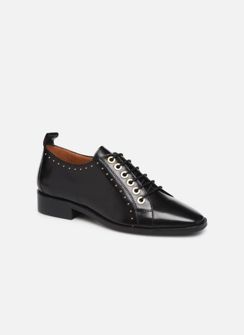 Chaussures à lacets Made by SARENZA Retro Dandy Chaussures à Lacet #1 Noir vue droite