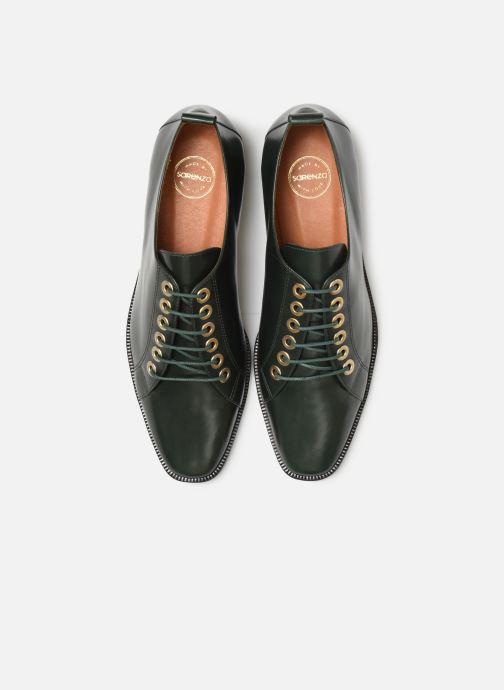 Snøresko Made by SARENZA Retro Dandy Chaussures à Lacet #1 Grøn se skoene på