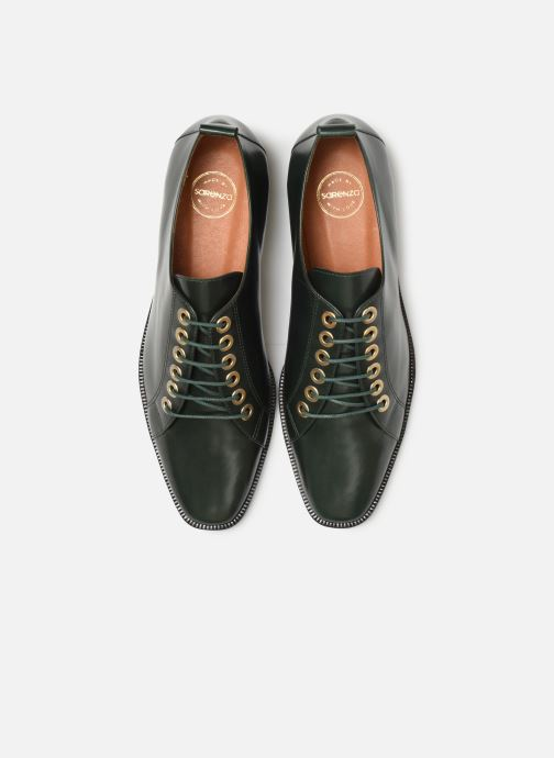 Zapatos con cordones Made by SARENZA Retro Dandy Chaussures à Lacet #1 Verde vista del modelo
