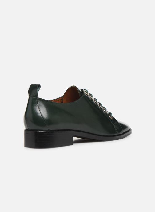 Chaussures à lacets Made by SARENZA Retro Dandy Chaussures à Lacet #1 Vert vue face