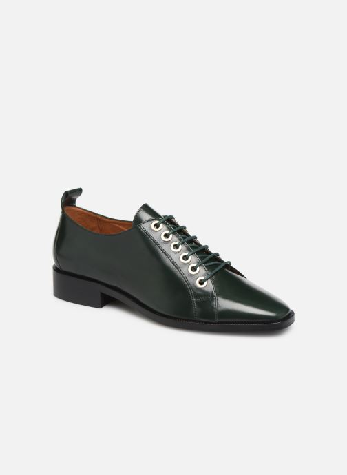 Snøresko Made by SARENZA Retro Dandy Chaussures à Lacet #1 Grøn Se fra højre