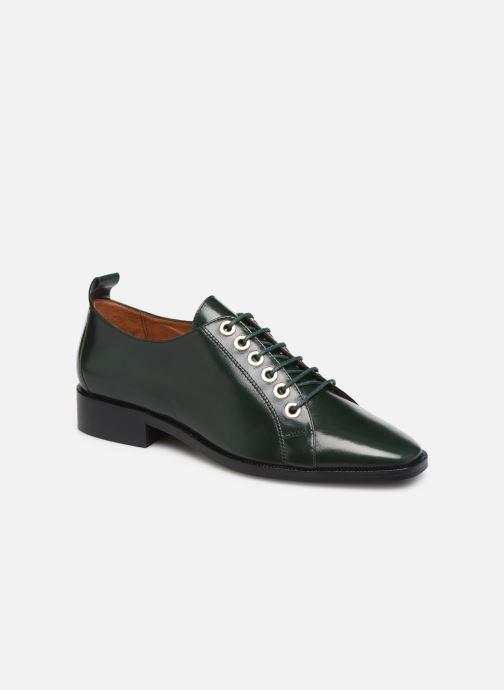Chaussures à lacets Made by SARENZA Retro Dandy Chaussures à Lacet #1 Vert vue droite