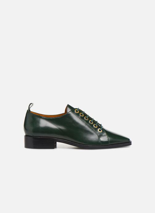 Snøresko Made by SARENZA Retro Dandy Chaussures à Lacet #1 Grøn detaljeret billede af skoene