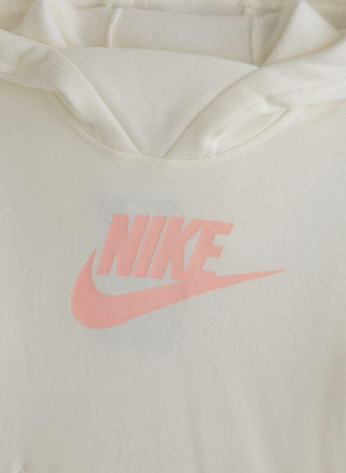 Vêtements Nike Nike Sportswear Pe Pullover Blanc vue portées chaussures