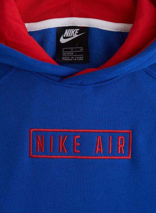 Kleding Nike Nike Air Po Hoodie Blauw model
