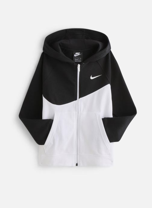 Grafico Bendecir Sonrisa  Nike Sweatshirt hoodie - Nike Sportswear Swoosh Hoodie (Blanc) - Vêtements  chez Sarenza (379192)