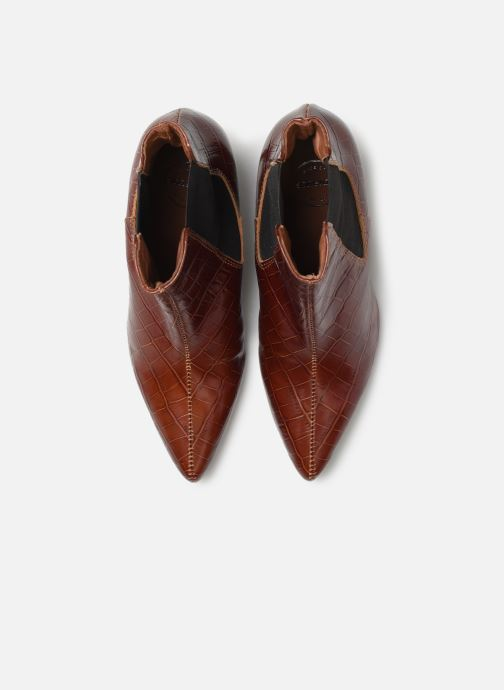 Bottines et boots Made by SARENZA Soft Folk Boots #12 Marron vue portées chaussures