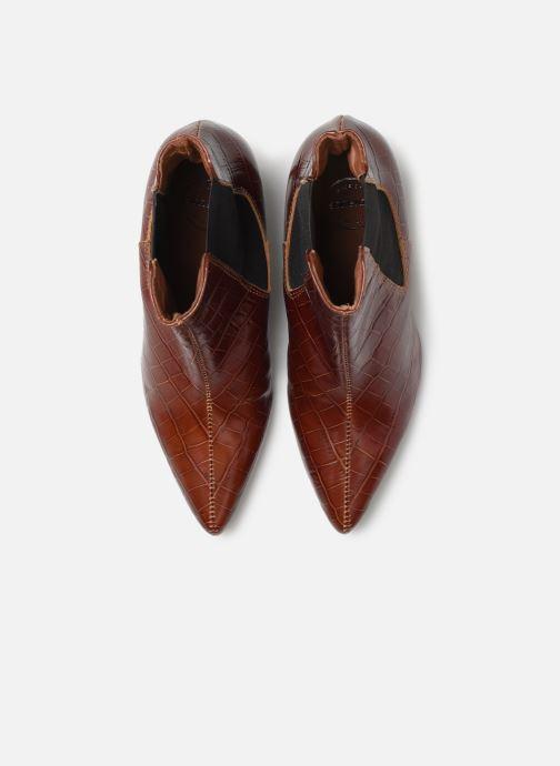 Stivaletti e tronchetti Made by SARENZA Soft Folk Boots #12 Marrone modello indossato