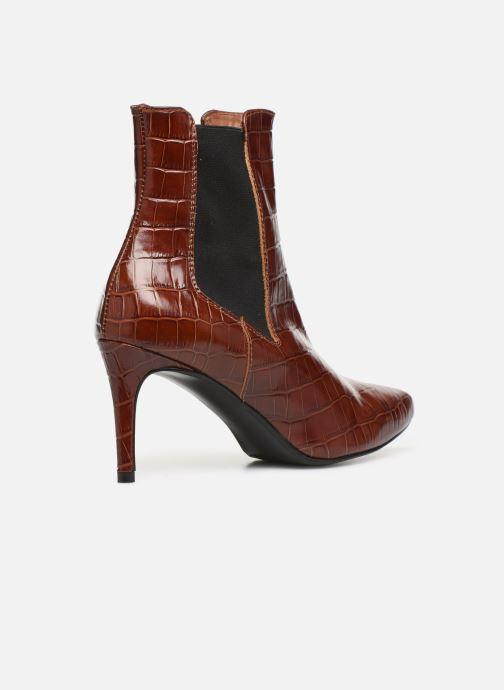Stivaletti e tronchetti Made by SARENZA Soft Folk Boots #12 Marrone immagine frontale