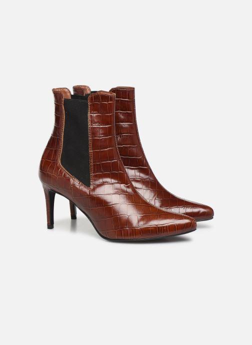 Botines  Made by SARENZA Soft Folk Boots #12 Marrón vistra trasera